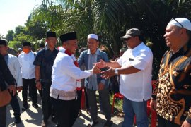 Bupati Labuhanbatu letakkan batu pertama pembangunan Mesjid Nurjalena Jadda