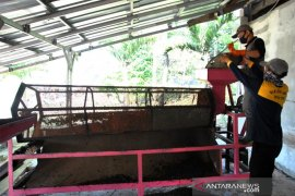 Pengolahan sampah organik menjadi pupuk kompos di Bogor