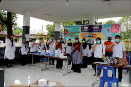"""Antisipasi penularan COVID-19, Tambang Emas Martabe dukung Pemkab Tapsel gelar """"rapid test"""" gratis"""