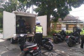 Polrestabes Medan jaring puluhan kendaraan dalam Operasi Toba
