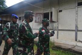 Danrem 121/Abw Instruksikan perbaikan Rumah Dinas prajurit Kodim 1203/Ktp