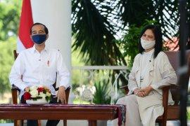 Presiden Jokowi dan Ibu Iriana: Senyum anak-anak Indonesia jadi penyemangat kerja