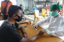 Awak media di Kabupaten Batanghari jalani rapid test