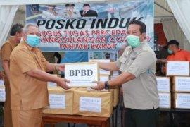 Bupati Safrial serahkan bantuan APD dari OPD lingkup Pemkab Tanjab Barat