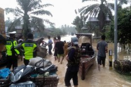 Banjir landa Labura, ratusan rumah terendam