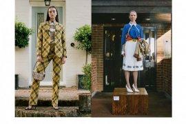Burberry jadikan stafnya  model untuk koleksi terbaru