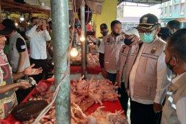 Jelang Idul Adha, Satgas Pangan Jambi cek harga bahan pokok di pasar Angsoduo