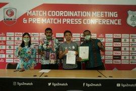 Resmi bergabung, Ferdinand Sinaga janji bawa PSMS ke Liga 1