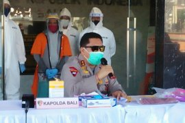 Polda Bali ringkus buronan Interpol dalam kasus penipuan investasi