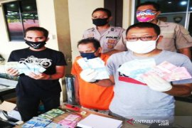 Polsek Banjarmasin Barat ungkap peredaran uang palsu