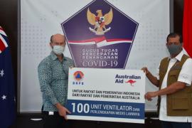 Australia serahkan 100 ventilator ke Indonesia tangani COVID-19
