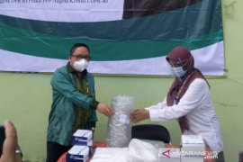 Peduli penanganan COVID-19, Syaifullah Tamliha bantu alkses Puskesmas Karang Intan