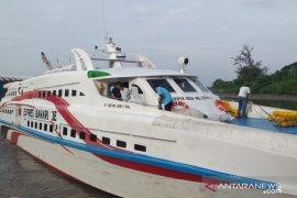 Kapal cepat Tanjung Pandan -Pangkal Balam kembali beroperasi