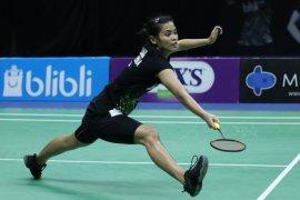 Thailand Open II,  Gregoria lolos ke babak kedua