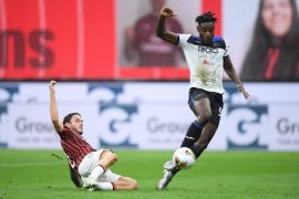 Atalanta hentikan tren kemenangan Milan dengan paksakan hasil imbang