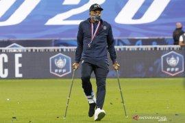 Kylian Mbappe  cedera parah saat final Piala Prancis