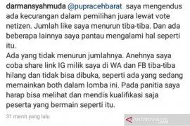 Panitia lomba tulisan Dinas PUPR Aceh Barat endus indikasi kecurangan