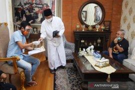 Ketua KPU Arif Budiman dampingi PPDP coklit ke rumah Gus Ipul dan Dahlan Iskan