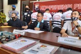 Jaringan perdagangan anak buah kapal  internasional diungkap Polda Riau