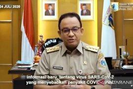 Anies Baswedan : Kasus paparan COVID-19 Jakarta Rabu tambah 584 orang