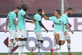 Liga Italia: Dwigol Lukaku bantu Inter bungkam Genoa 3-0