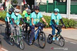 Wakil Ketua MPR Jazilul Fawaid ikut bersepeda 'Gowes to Nation' di Jakarta