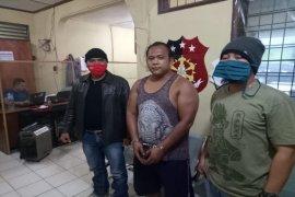 Betmen curi 7.000 kilogram buah kelapa sawit ditangkap Polsek Salapian Langkat
