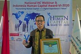 BPJAMSOSTEK juara umum penghargaan IHCA VI-2020