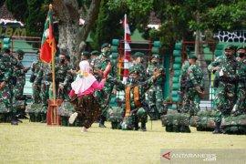 Bupati Garut sambut kedatangan 448 prajurit pamtas RI-Malaysia