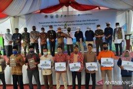 Kelompok tani hutan di Jambi dukung SK Kemitraan dari Menhut