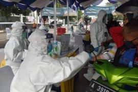Pasar Rangkasbitung terapkan protokol kesehatan bagi pedagang dan pengunjung