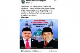 Beredar di medsos, Dolly Pasaribu - Hamdan Nasution berpasangan
