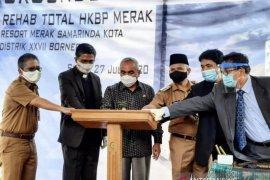 Gereja HKBP Samarinda mulai direhab total
