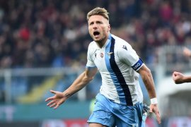 Trigol Immobile warnai kemenangan 5-1 Lazio atas Verona