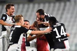 Hantam Sampdoria 2-0, Juventus amankan gelar juara Liga Italia