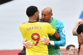 Deeney menyebut terdegradasi jadi hari paling menyedihkan Watford