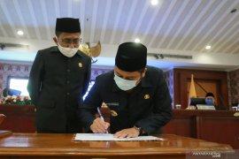 DPRD Kota Tangerang sahkan Perda tentang  Ketahanan Pangan dan Gizi