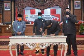 DPRD setujui ranperda pertanggungjawaban pelaksanaan APBD Provinsi Jambi 2019