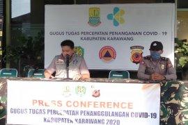 Kasus positif COVID-19 di Karawang bertambah lagi 14 orang