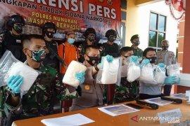 Oknum dosen yang selundupkan 7 kg sabu dari Malaysia ditangkap polisi