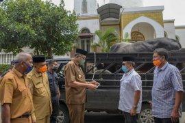 Pemerintah Aceh terima sapi kurban dari Presiden Jokowi seberat 856 Kg