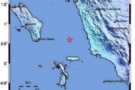 Gempa magnitudo 4,9 terjadi di Nias Selatan