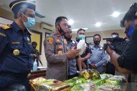 Petugas  gagalkan penyeludupan 33 kilogram sabu-sabu