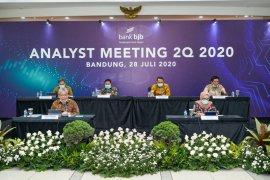 Bank BJB raih laba bersih Rp808 miliar triwulan II-2020