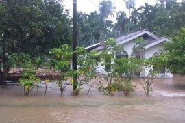 Banjir kembali landa Kabupaten Aceh Jaya, ratusan rumah terendam air