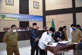 DPRD Tapsel setuju RDTR zonasi kawasan Batang Toru menjadi Perda