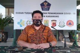 Kasus positif COVID-19 di Karawang kembali bertambah tiga orang