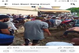 Ratusan warga Langkat sholatkan jenazah Ketua MUI Buya H Ahmad Mahfudz