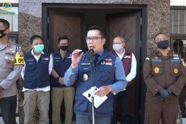 Di Jawa Barat denda tak pakai masker dari Rp100 ribu hingga Rp500 ribu