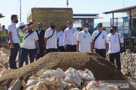Wabup HSS monitoring dan evaluasi pembangunan infrastruktur di wilayah Daha